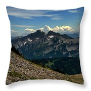Alpine Country Throw Pillow