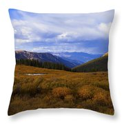 Alpine Pond Throw Pillow