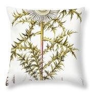Alpine Thistle Throw Pillow