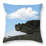 Alpine Tundra - Up In The Clouds Throw Pillow