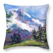Alpine View Throw Pillow