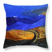 Alpine Vista Throw Pillow