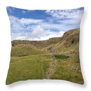 Alport Castles, Derbyshire, England Throw Pillow