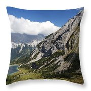 Alps Austria Throw Pillow