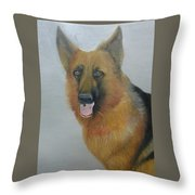 alsheshan Dog  Throw Pillow