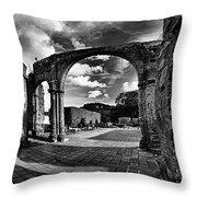 Altagracia - Ruinas Throw Pillow
