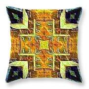 Altar Cross Tapestry Throw Pillow