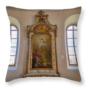 Altarpiece Throw Pillow