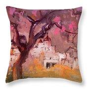 Altea La Vieja In Spain 18 Throw Pillow