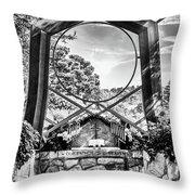 Alter Under Glass Throw Pillow