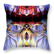 Altered States Abstract Throw Pillow