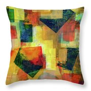 Altered Vision 2  Throw Pillow