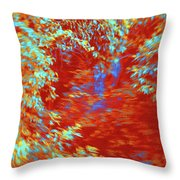 Alternating Currents 2 Throw Pillow