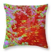 Alternating Currents 4 Throw Pillow