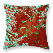 Alternating Currents 5 Throw Pillow