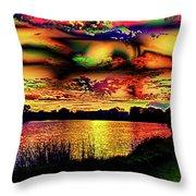 Alternative Cloud Design Throw Pillow