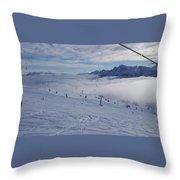 Alto Adige Throw Pillow
