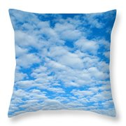 Alto-cumulus Throw Pillow