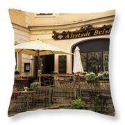 Altstadt Beisl Throw Pillow