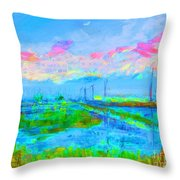 Alviso Evening Throw Pillow