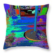 always at ease - Wellness Works - Glendale Throw Pillow