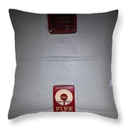 Always Call 911 In An Emergency Throw Pillow