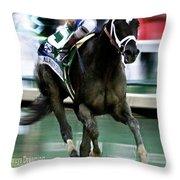 Always Dreaming, Johnny Velasquez, 143rd Kentucky Derby  Throw Pillow