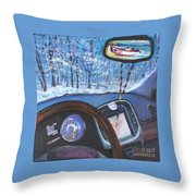 Always In My Mind Throw Pillow