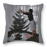 Always Put The Star On First Throw Pillow