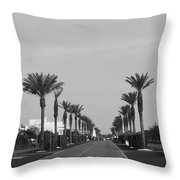 Alys Beach Entrance Throw Pillow