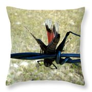Am I Bugging You Throw Pillow