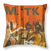 Am Tk Throw Pillow