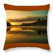 Am Whispers  Throw Pillow