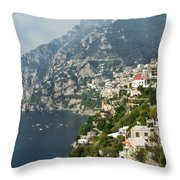 Amalfi Coast II Throw Pillow