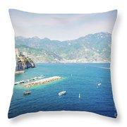 Amalfi Coast, Italy IIi Throw Pillow