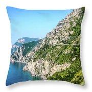 Amalfi Splendor Throw Pillow