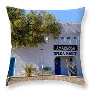 Amargosa Opera House Throw Pillow