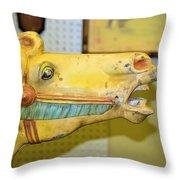 Amarillo Throw Pillow