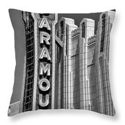 Amarillo Paramount Theatre - #1 Throw Pillow