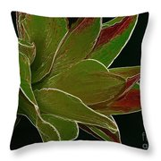 Amaryllis Art Throw Pillow