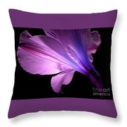 Amaryllis Glow Throw Pillow