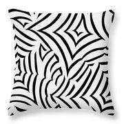 Amazed Throw Pillow by Tara Hutton