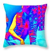 Amazement Throw Pillow