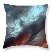 Amazing Clouds Throw Pillow