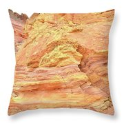 Amazing Color In Wash 3 - Valley Of Fire Throw Pillow