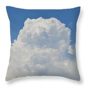 Amazing Cumulus Throw Pillow