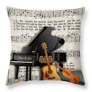 Amazing Grace-jp3513 Throw Pillow