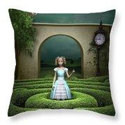 Amazing Maze Throw Pillow