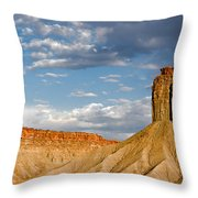 Amazing Mesa Verde Country Throw Pillow