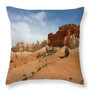 Amazing Mountains In National Park  Throw Pillow